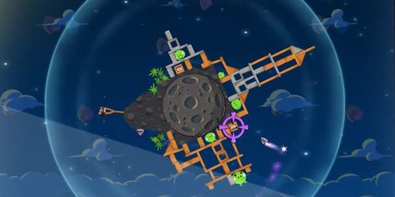 Angry Birds Space - הציפורים הזועמות בחלל