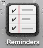 אייקון חדש ל-Reminders