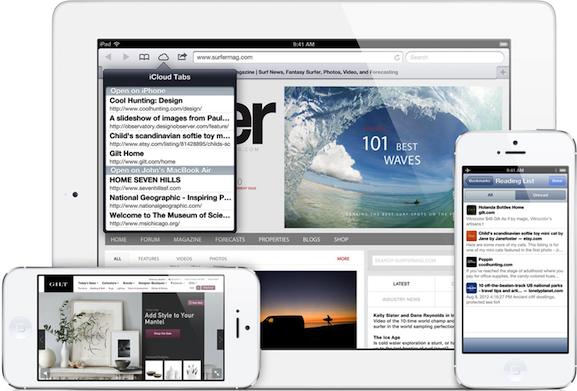 ספארי - iOS 6