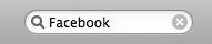 Facebook SearchBox