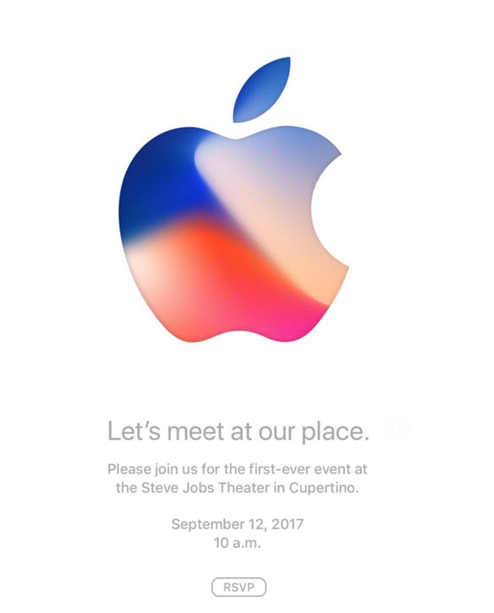 אירוע אייפון 8