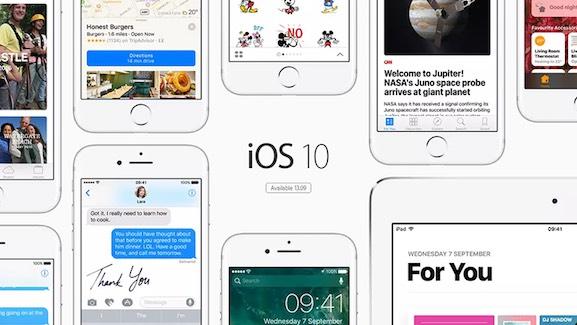 iOS 10 להורדה