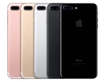 צבעי האייפון 7