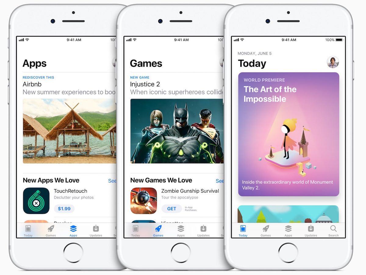 חנות אפליקציות iOS 11