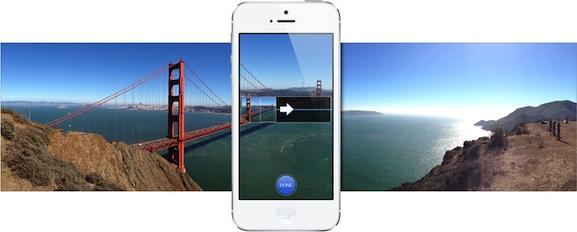 צילום פנורמי - iOS 6