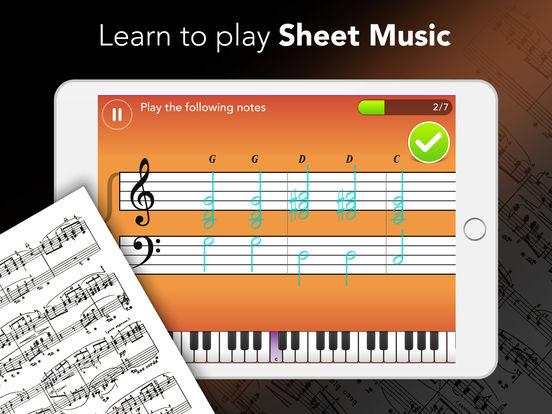 לימוד פסנתר וקלידים באייפון ובאייפד