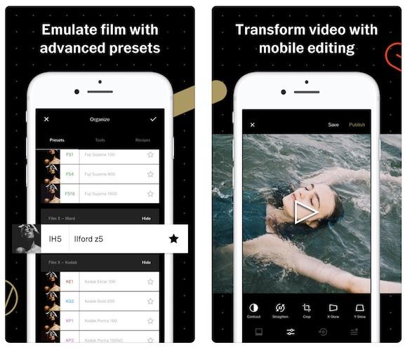 עריכת תמונות לאייפון