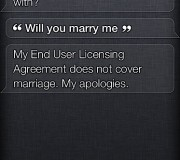 Siri - Will you marry me?
